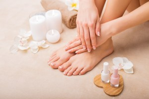 CBD spas: CBD products being used at nail salons