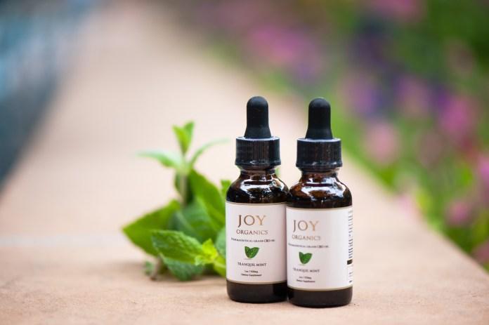 Joy Organics zero THC products