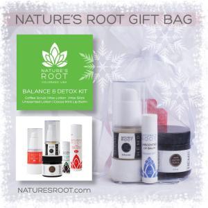 CBD gifts: Nature's Root Balance and Detox Kit