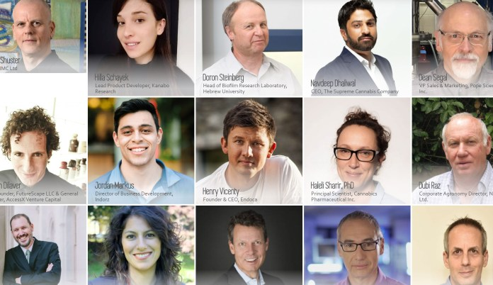 Main speakers in CannaTech Tel-Aviv 2019