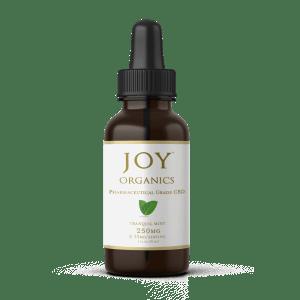 Free Joy Organics 250mg CBD mint tincture