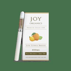 Joy Organics CBD vape pen
