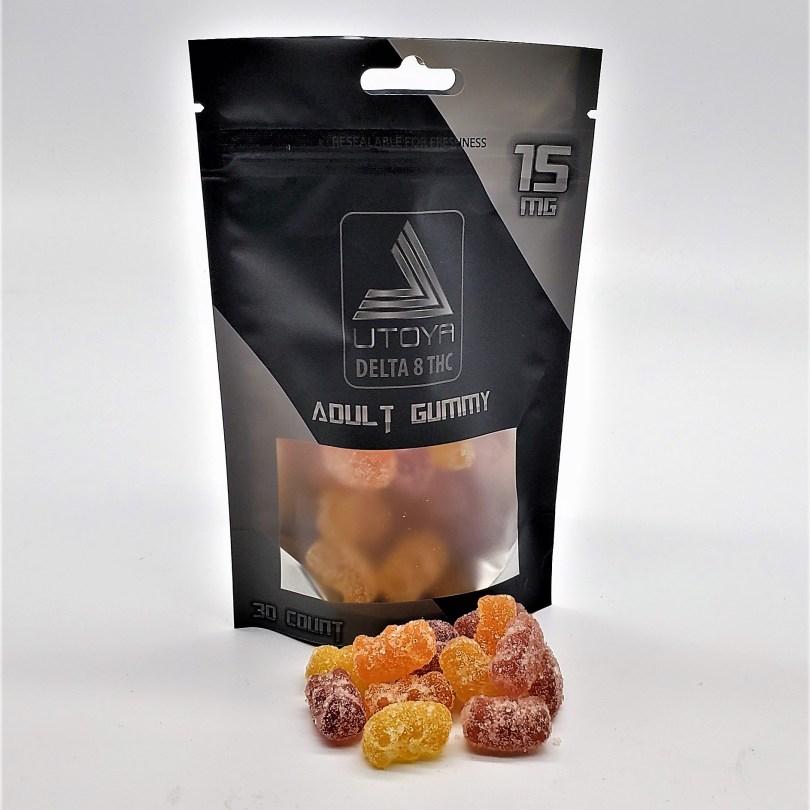 Delta 8 THC Organic & Vegan Gummy Bears - Only $40 for 3 bags of Gummies