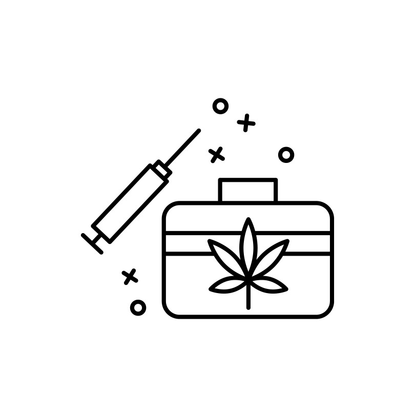 THC injection