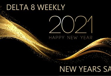 Delta 8 Weekly New Years Sale