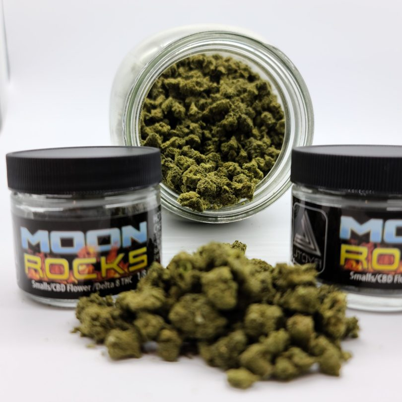 Delta-8 Moon Rocks Mini's – Only $38.5 for a 1/4