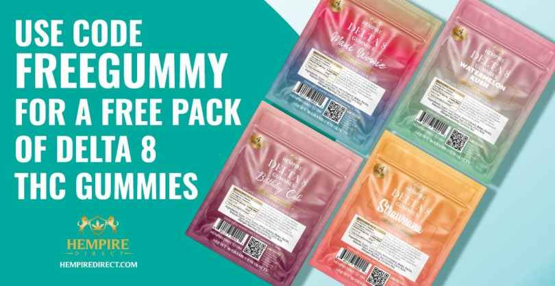 FREE Delta 8 Gummies Sample Pack - Coupon FREEGUMMY