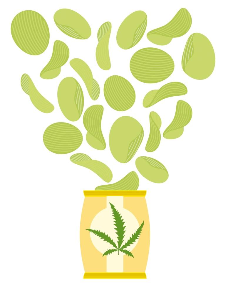 interesting edibles cannabis
