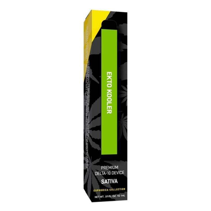 Ekto Kooler Delta 10 THC Disposable Vape - Sativa