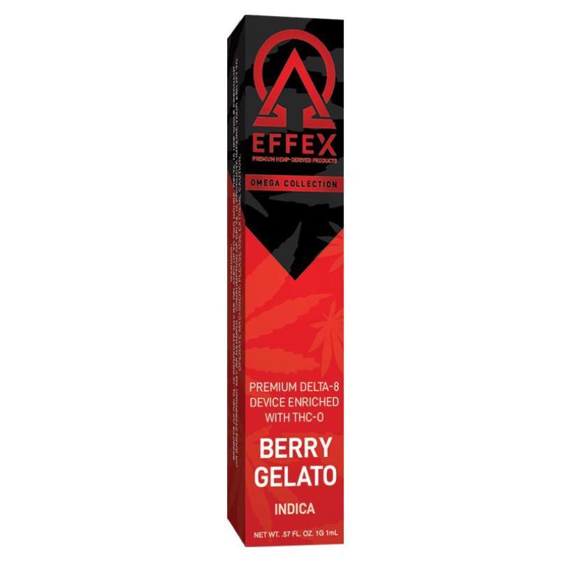 THC-O Disposables – Indica - Berry Gelato