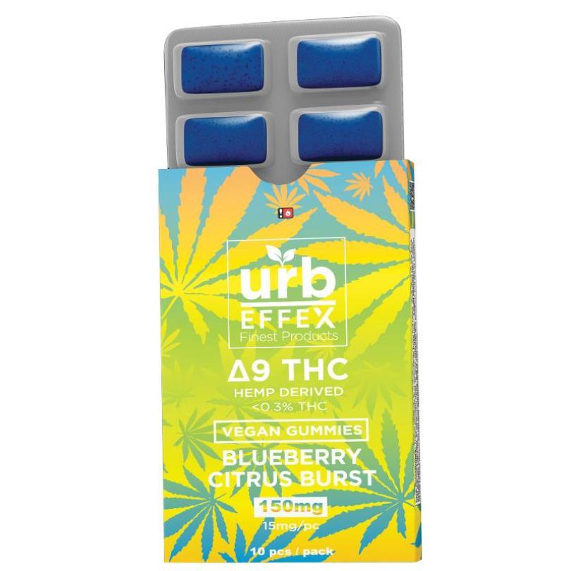 Hemp-Derived Delta-9 THC Gummies