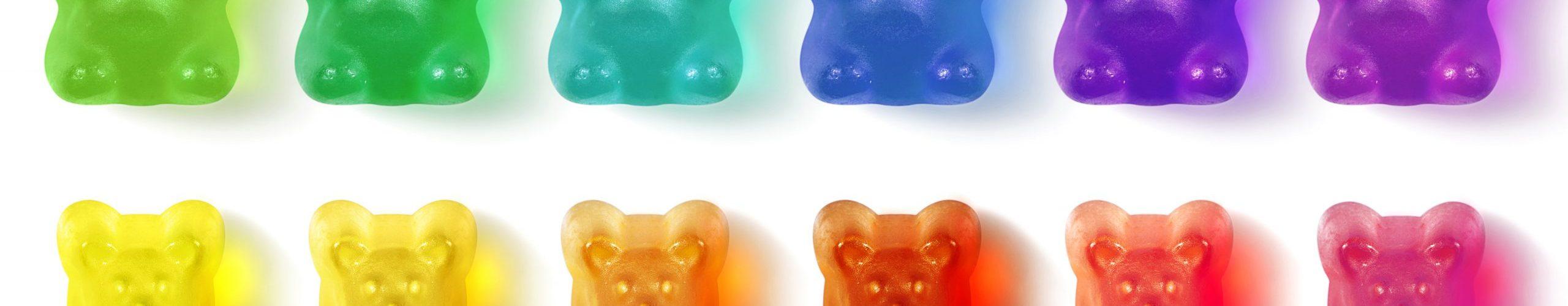 25mg THC-O gummies - Sour Orange