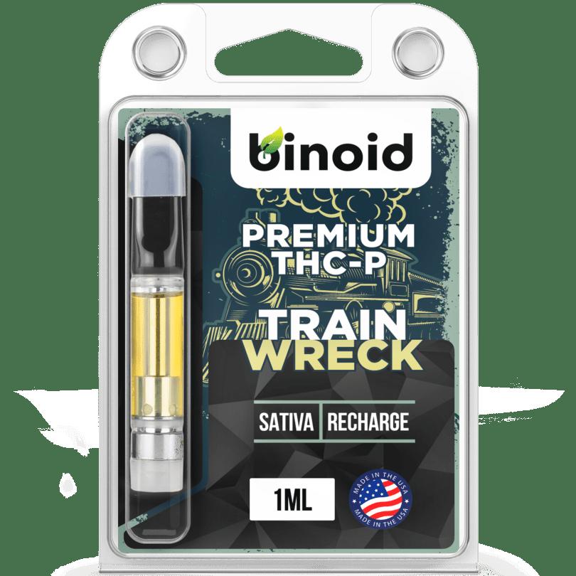 TrainwreckTHC-P vape cartridges - Sativa
