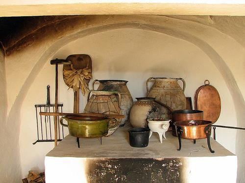 Old Hungarian Kitchen Utensils (Used with permission.)