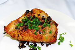 A Shot of Chicken Piccata, or, Almost the Same Recipe