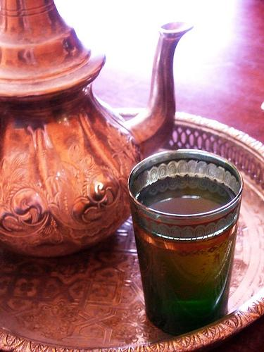 Morocco mint tea