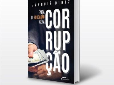 """Livro """"Falta de educação gera corrupção"""" será lançado no XI CBESP"""