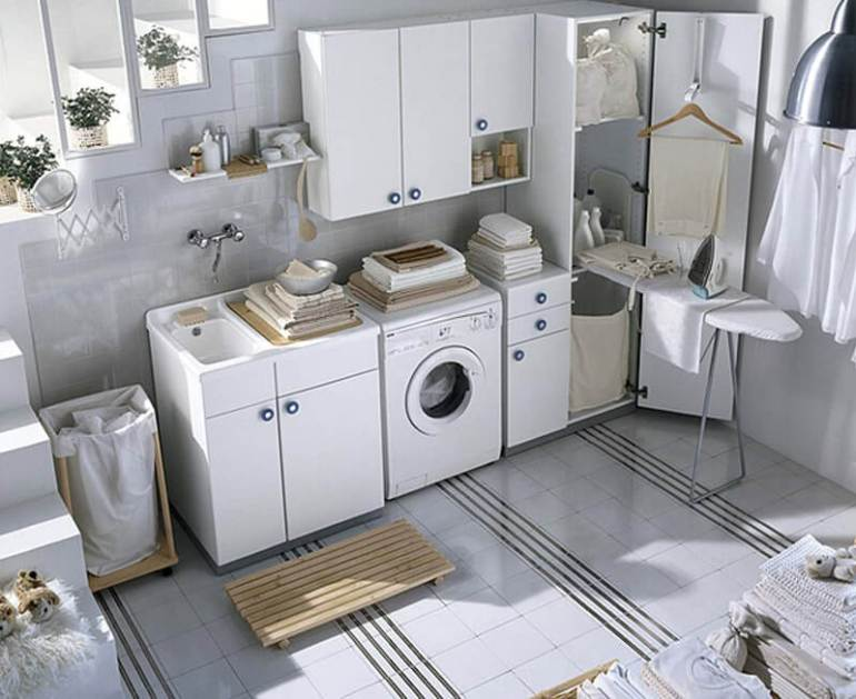 basement laundry room renovation ideas