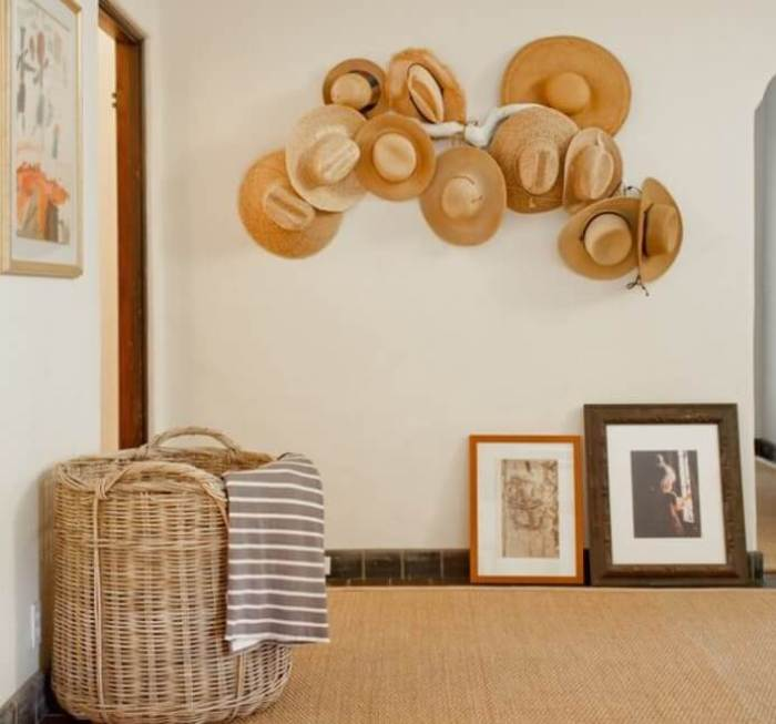 creative hat rack ideas