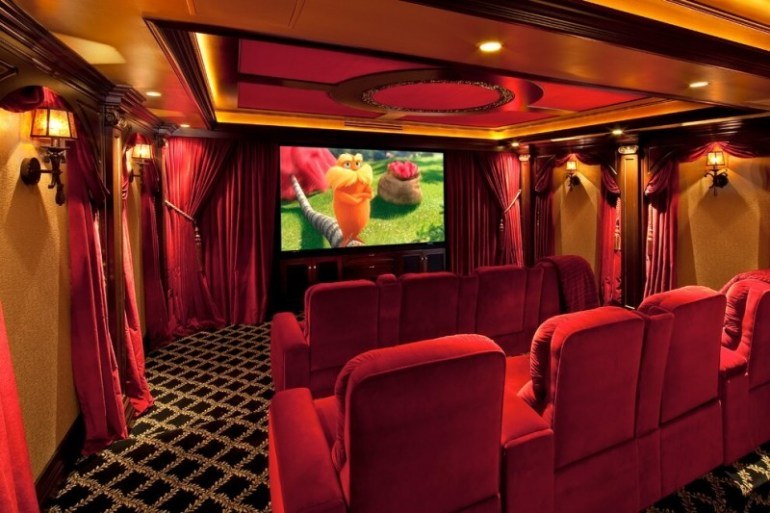 basement home theater carpet