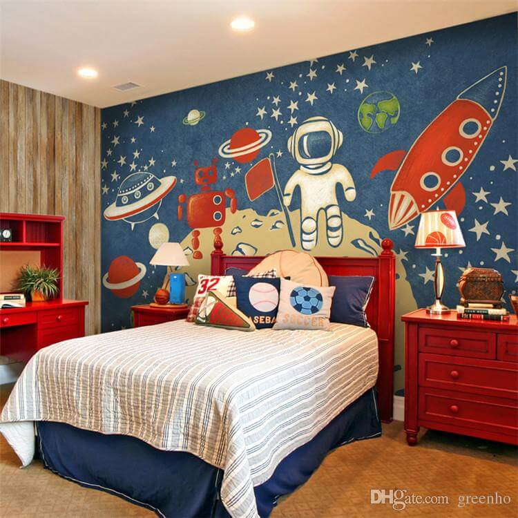 space themed room decorating ideas