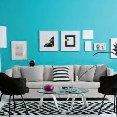 Living Room Ideas With Turquoise Walls Interior Designing For Small 20 Awe Inspiring To Jazz Up Your Home Decor