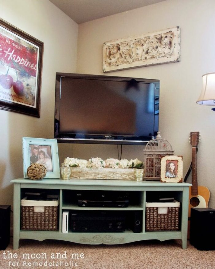 diy tv entertainment center
