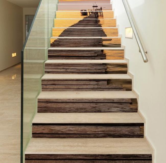 25 Pretty Painted Stairs Ideas: 30+ Beautiful Painted Staircase Ideas For Your Home Design