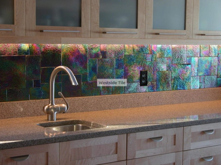 kitchen glass splashback ideas