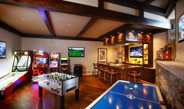 17 most popular video game room ideas feel the awesome - Game room in house ...