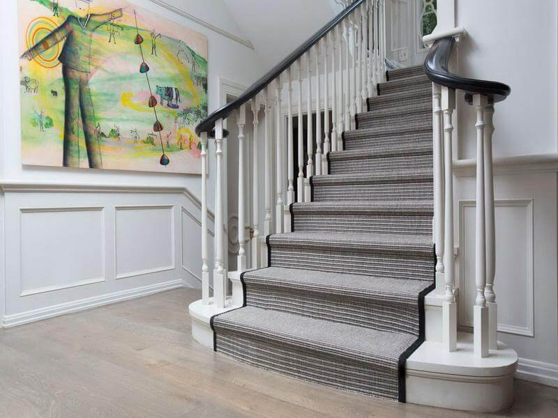30 Beautiful Painted Staircase Ideas For Your Home Design Inspiration