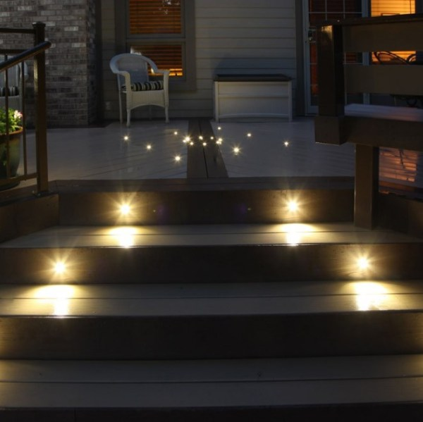 Exterior Staircase Lighting