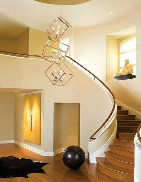 Unique Stairway Lighting