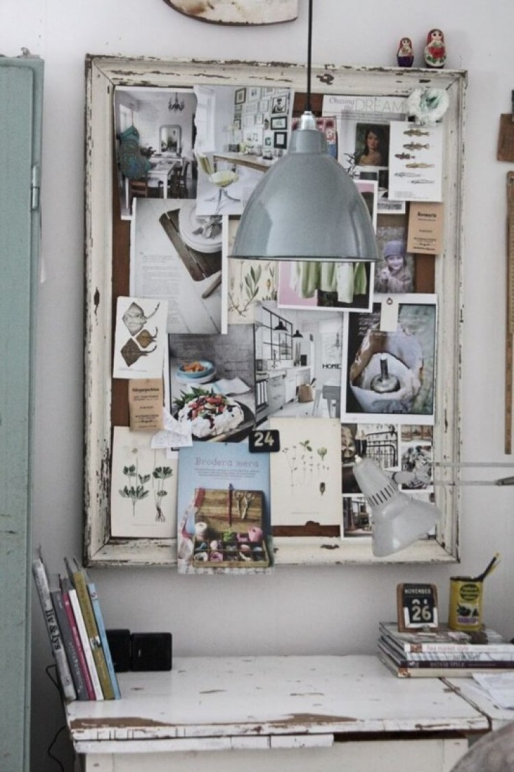 homemade cork board ideas