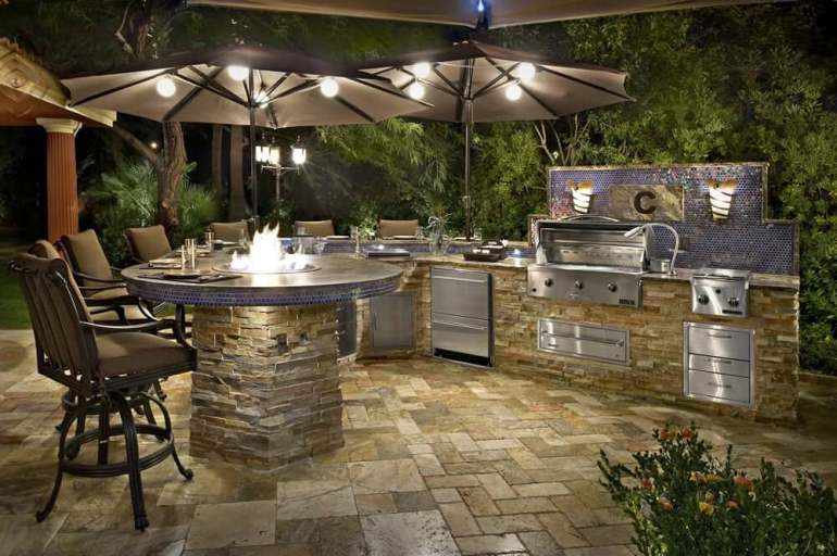 outdoor kitchen designs photos