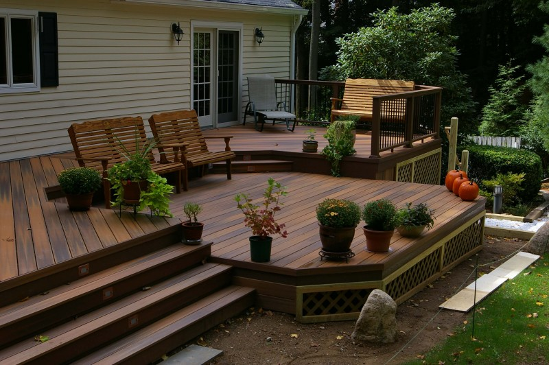 15+ Superb Deck Design Cool Deck Skirting Ideas for Every ...