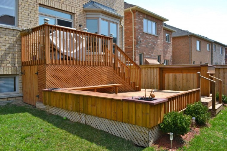 cool deck skirting ideas