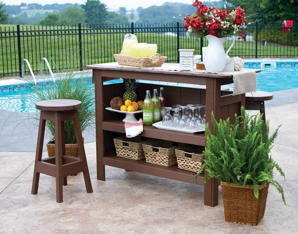 diy outdoor bar ideas 25 Creative