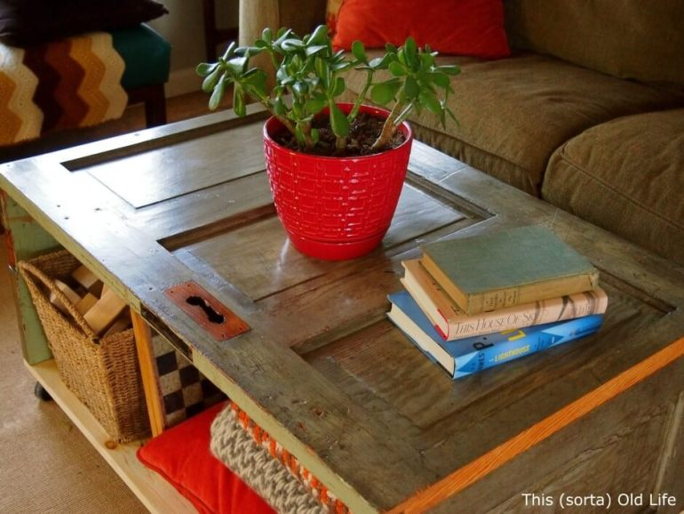diy coffee table base ideas