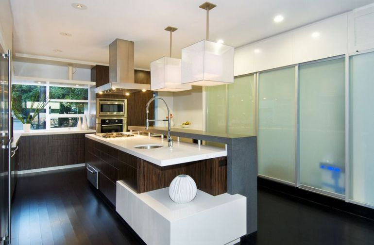 Cube Pendants for Kitchen