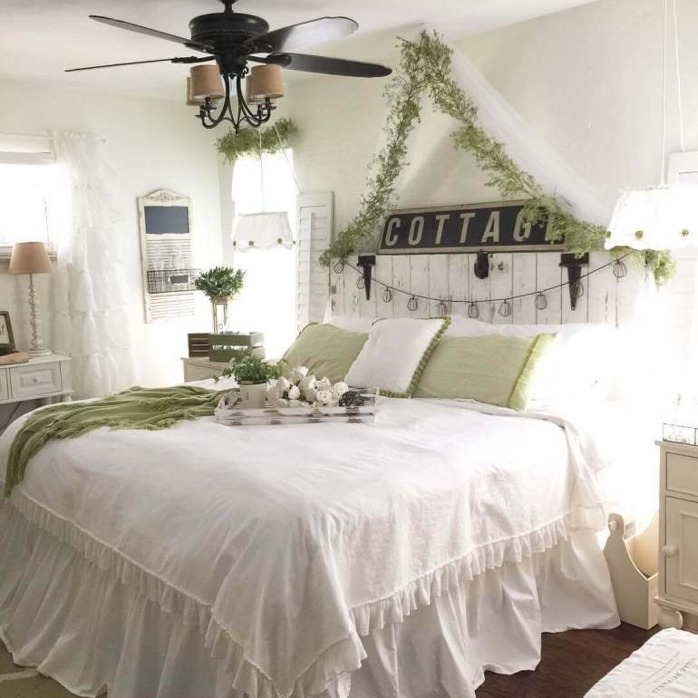 Farmhouse Garden Style Bedroom