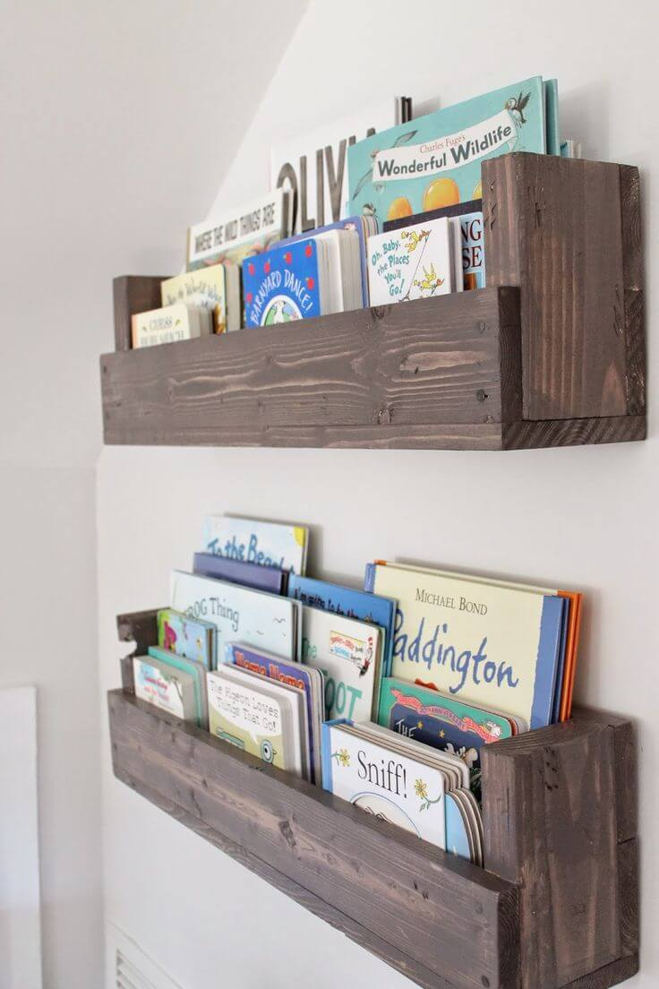 Cheap Bookshelves DIY