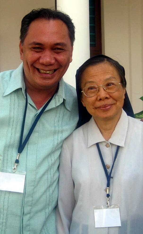 Fr. Doms and Sr. Emma