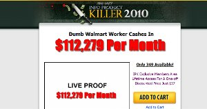 Info Product Killer Traffic Tactic