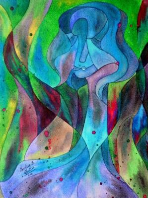 A New Inanna, 11x14 [4-2011]