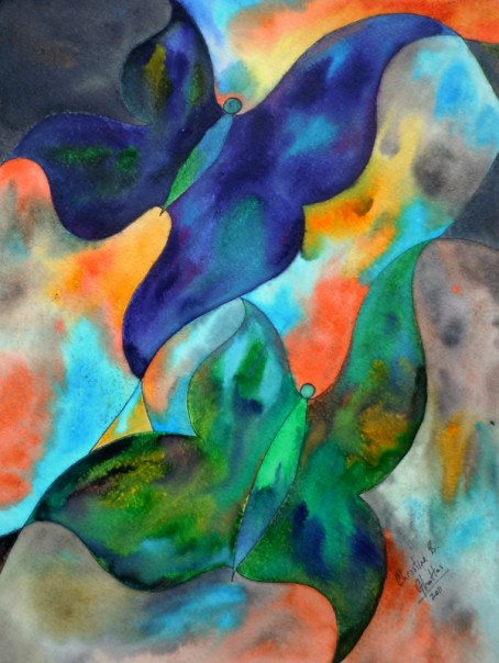 Mallory's Flutterbies, 11x14 [3-2011], Spring Things 2011 [Mallory Harris]