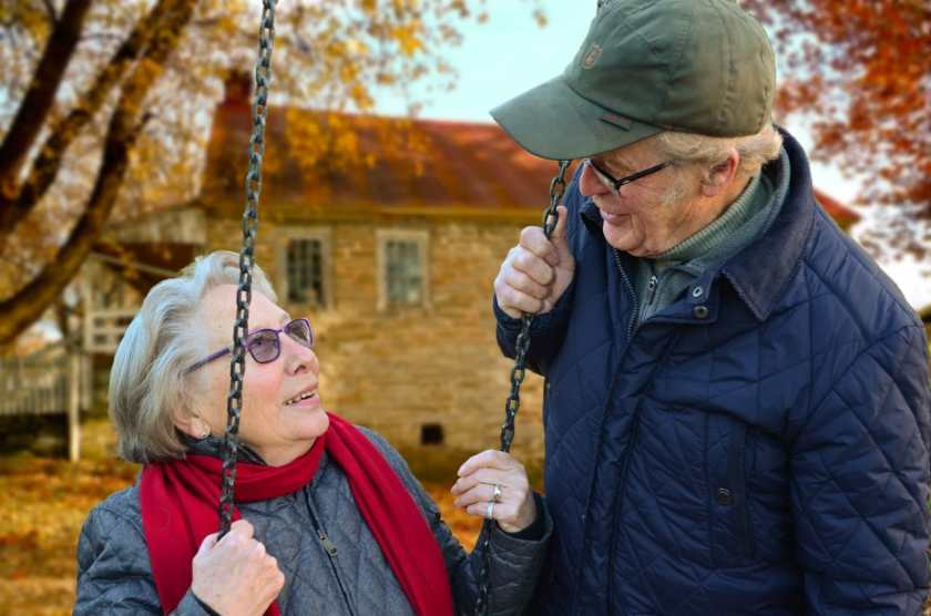 Help to Buy helps an elderly couple
