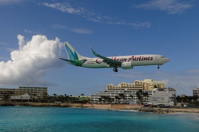 Caribbean airlines dominica flights barbados
