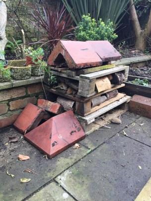 every garden needs a bug house