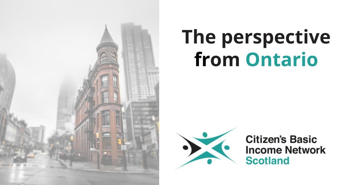Ontario Basic Income Pilot: A participant's perspective